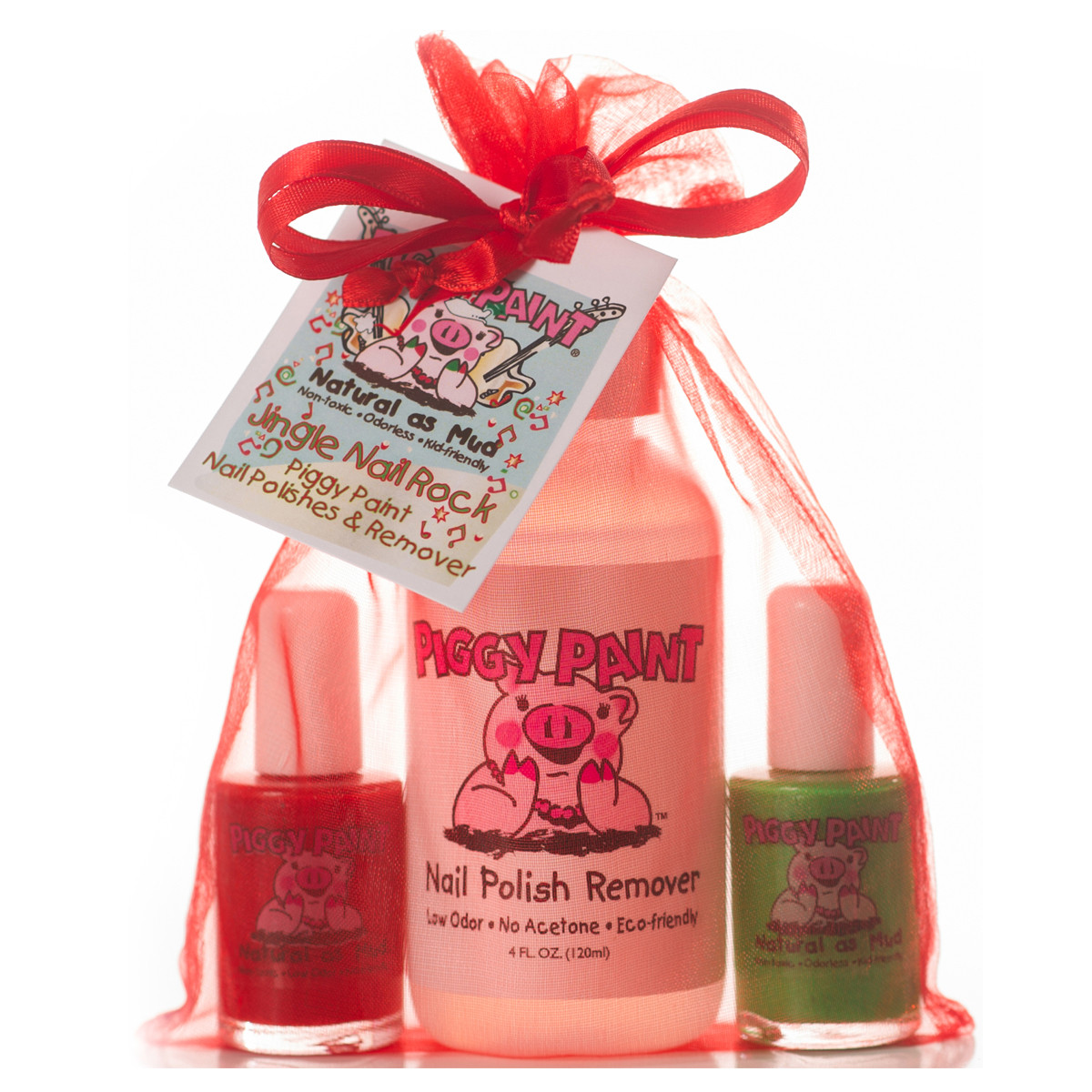 Piggy Paint Nail Polish Gift Set, Jingle Nail Rock - Parents\' Favorite