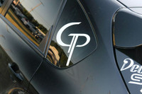 "10"" Metallic Silver GP 7 year Vinyl decal"