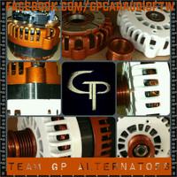 CADILLAC ESCALADE 6.0 -ALL YEARS- 300 AMP TEAM GP ALTERNATOR