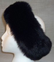 Real Fox Fur Headband
