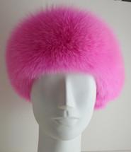Pink Fur Headband