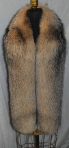 Crystal Fox Fur Scarf Boa Fling Wrap Stole