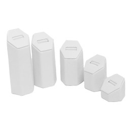 Leatherette Ring Tower - 5 Piece Set