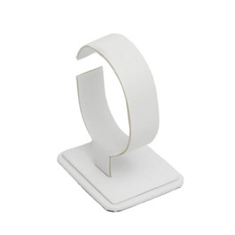 Leatherette Upright Stand for Bangle or Watch