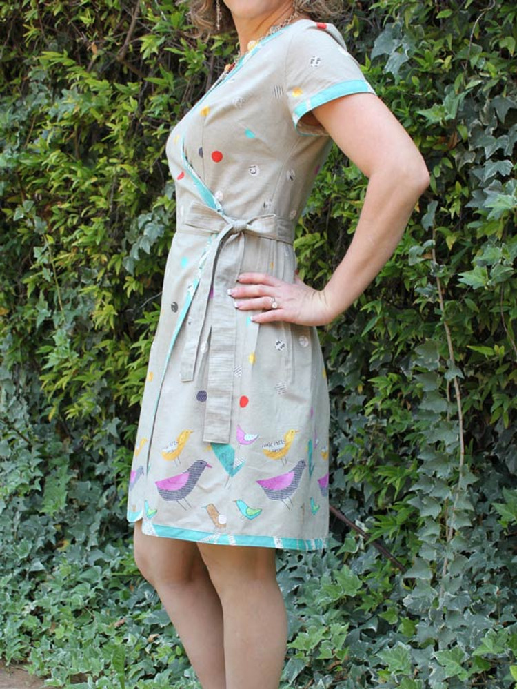 Ramona Wrap Dress (Pattern)