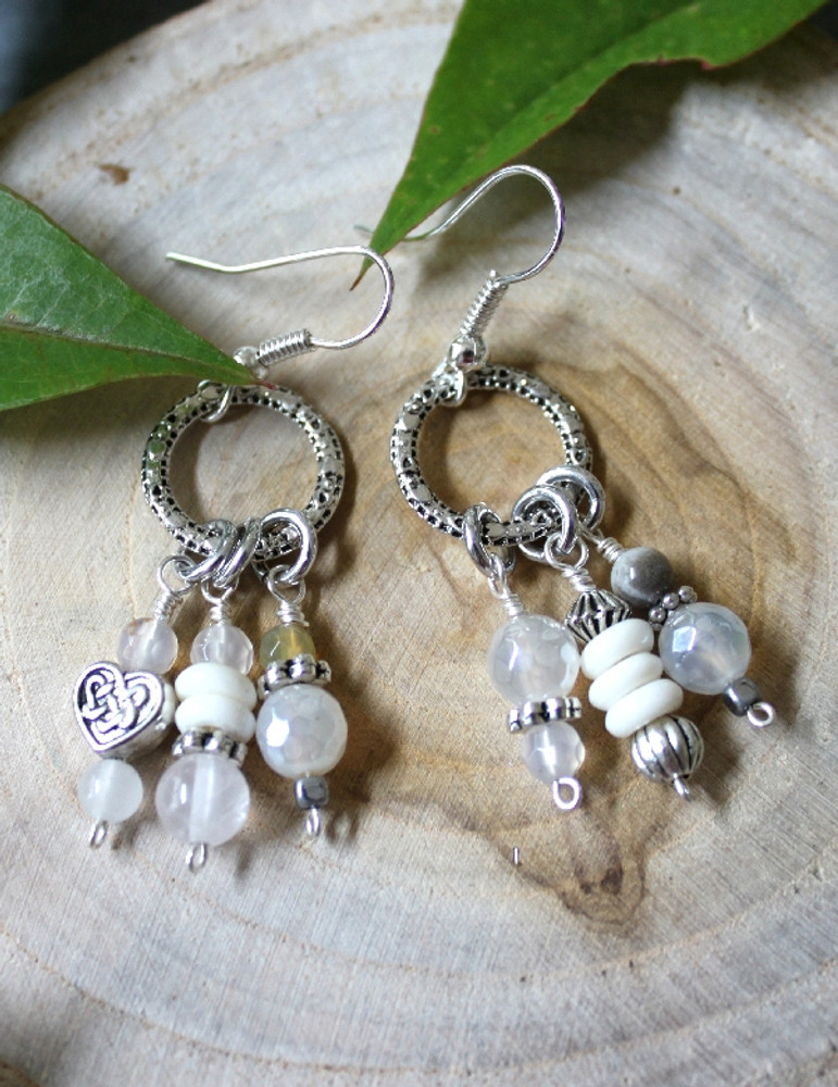 Mismatched Charms Earrings