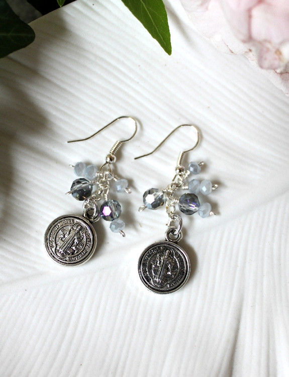 Medallion Coin Earrings