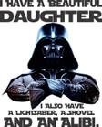 Darth Vader Daughter T-Shirt