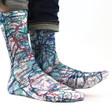 City Map Socks