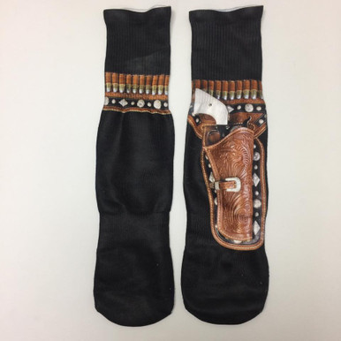 Gun holster socks