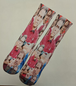 Nick Saban Socks