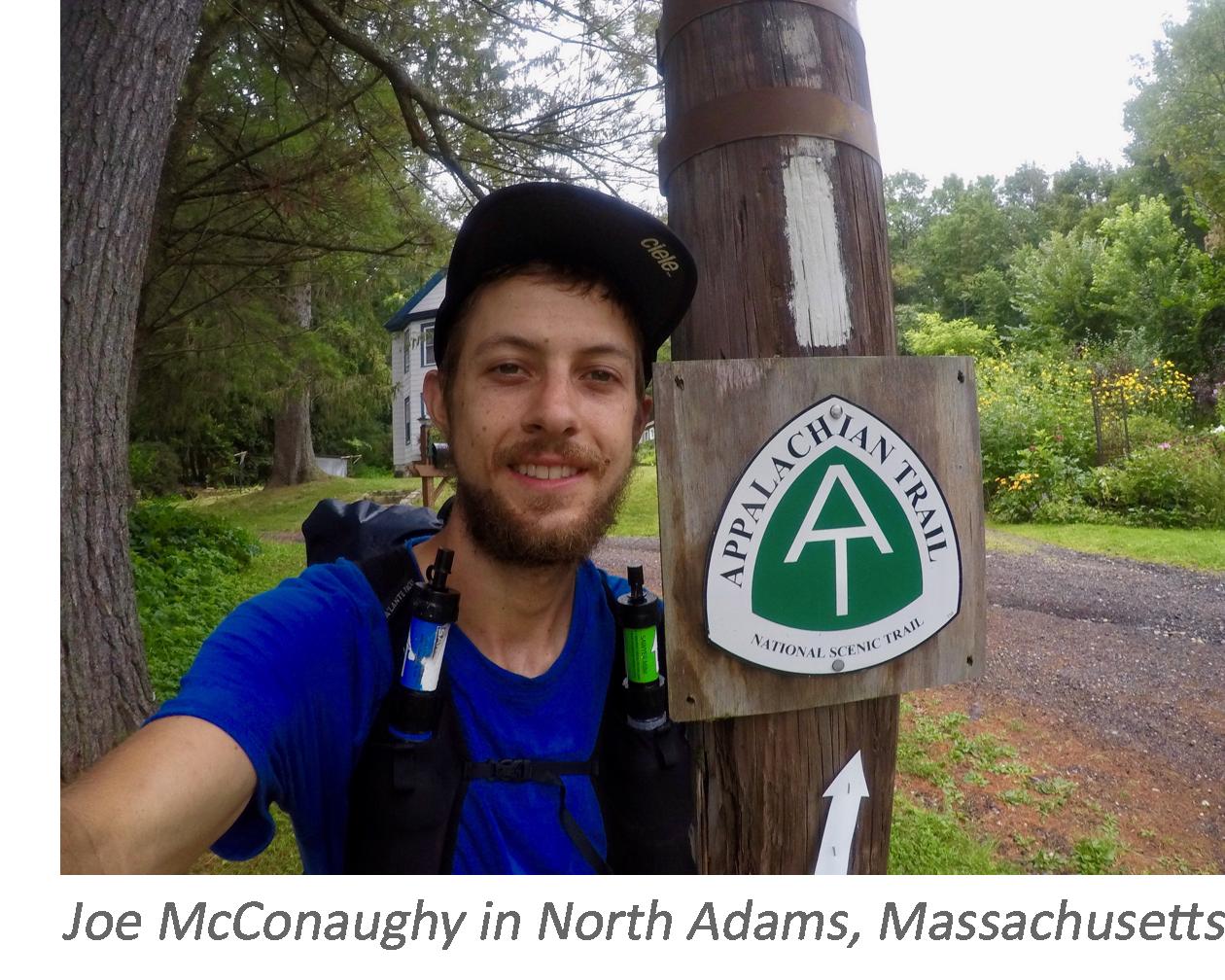 Stringbean on the Appalachian Trail