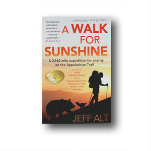 Humorous and inspirational account of a young man who thru-hiked as a fund-raiser for those with cerebral palsy.