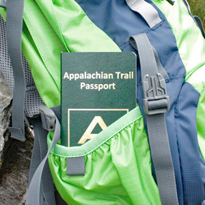 An official-looking passport to record your trip of a lifetime along the Appalachian Trail.