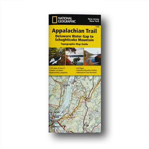 The Delaware Water Gap to Schaghticoke Mountain Topographic Map Guide makes a perfect traveling companion when traversing the New Jersey and New York sections of the Appalachian Trail.