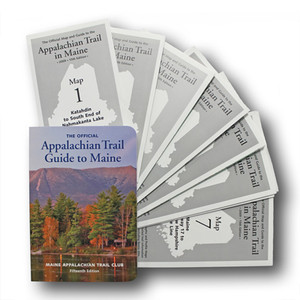 Appalachian Trail Guide: 282 miles from Katahdin in Baxter State Park to the New Hampshire state line.
