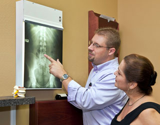 Chiropractic report of findings