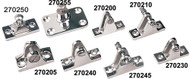 Concave Base Deck Hinge, Removable Pin