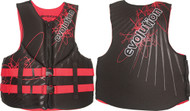 """Neo, Adult, 3XL, Black/Red, 52-56"""""""