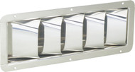 Louvered Vent, Stainless Steel