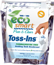 Eco-Smart Free & Clear Toss-Ins, 12 Packets
