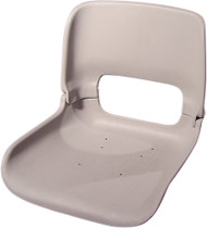 All-Weather High-Back Seat Shell w/T-Nuts, Black