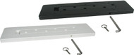 Black Removable Mounting Plate
