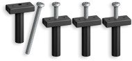Isolator Bolts, 4-Pack