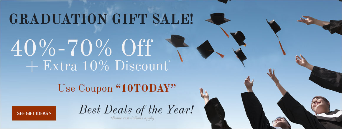 Graduation Gift Sale!