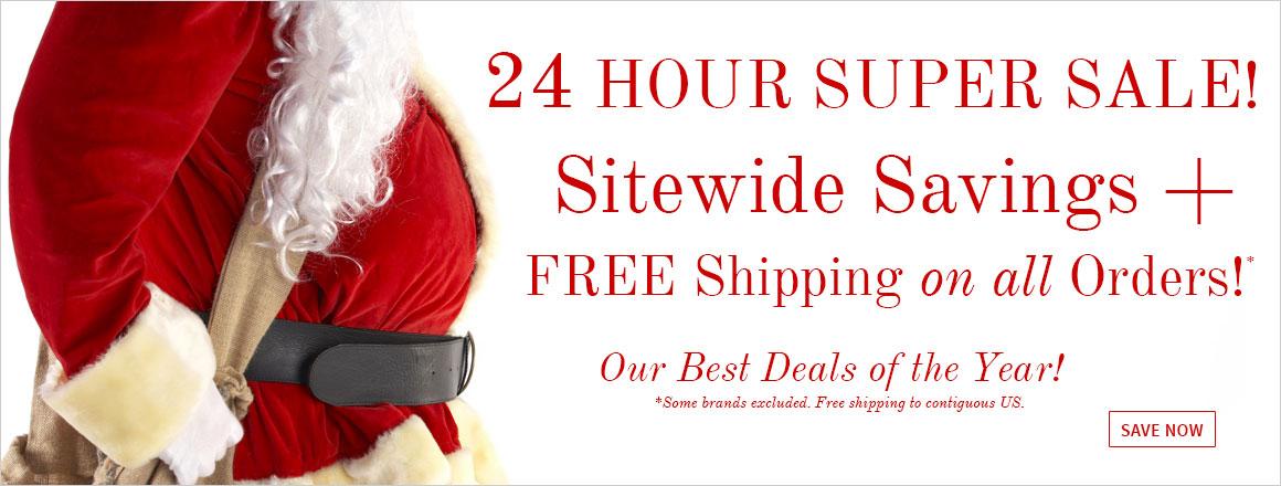 24 Hour Super Sale!