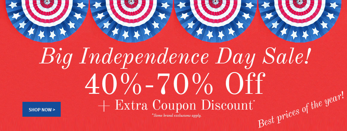 Big Independence Day Sale!