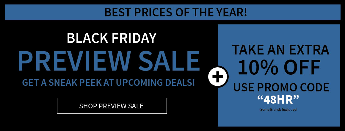 Black Friday Preview Sale!