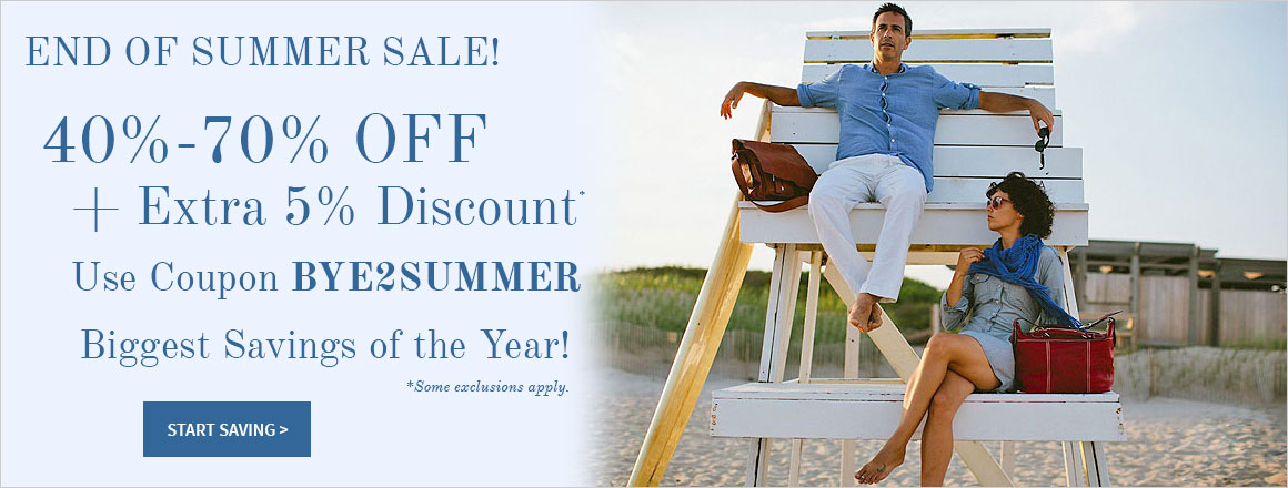 End of Summer Sale at Briefcase.com!