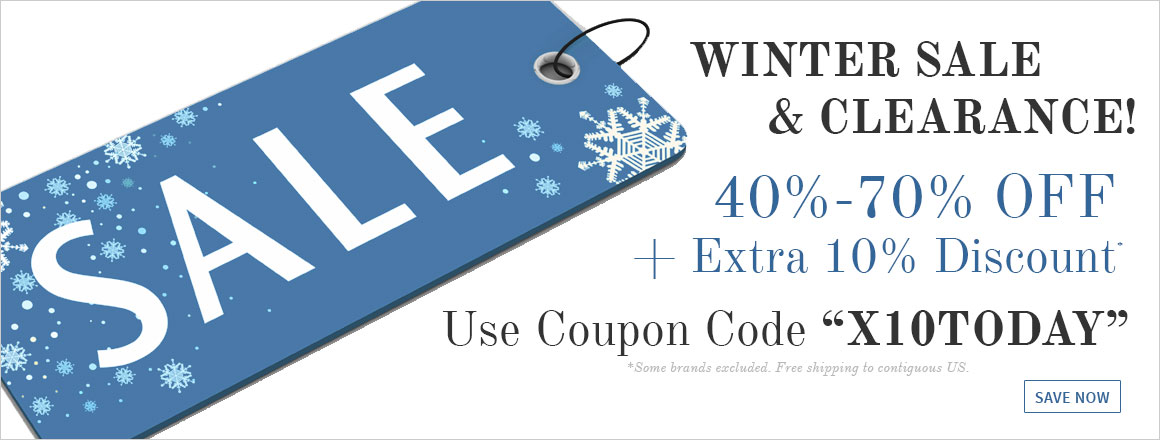 Winter Sale & Clearance!