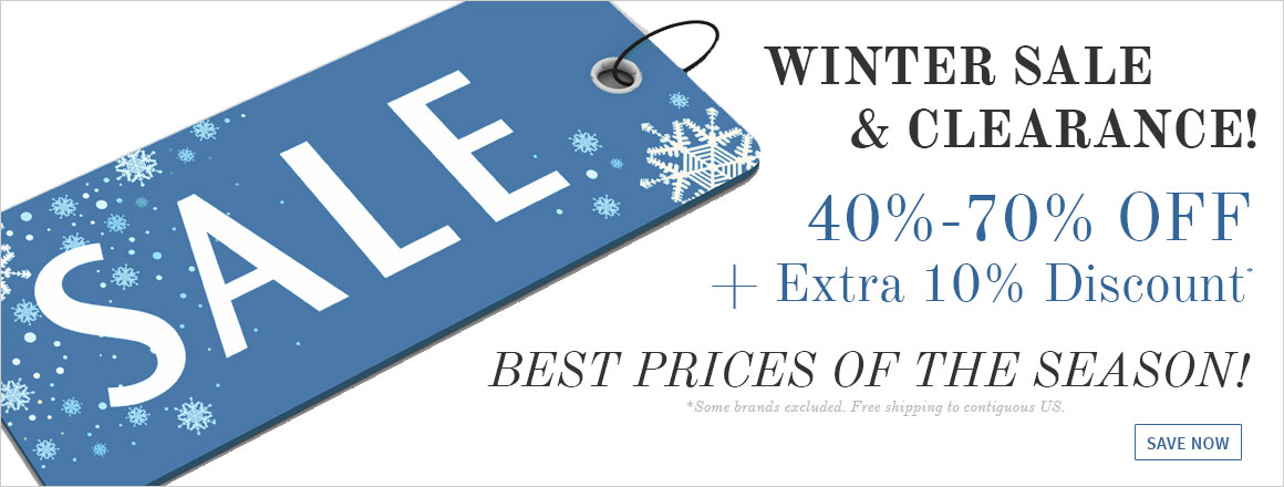 Winter Clearance Sale!