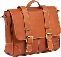 Claire Chase Laredo Messenger Bag Saddle