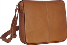David King Laptop Messenger Leather Messenger Bag 164