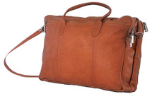 David King Double Top Zip Briefcase 178