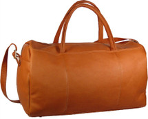 "David King 19"" Leather Duffle Bag 313"