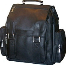David King Top Handle XX Large Leather Backpack 329