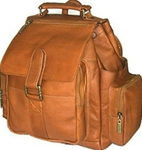 David King Top Handle X Large Leather Backpack 330