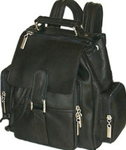 David King Top Handle Leather Backpack 331