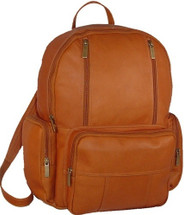 David King Leather Laptop Backpack 332