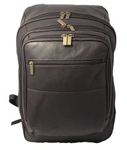David King Oversized Laptop Backpack (Cafe)