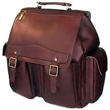 David King Jumbo Leather Backpack 354
