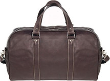 David King Frame Leather Duffle Bag 8308