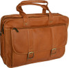 Edmond Leather Expandable Briefcase Carry All 211