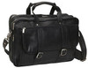 Edmond Leather Expandable Briefcase Carry All 211Back