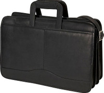 Edmond Leather Drop Handle Triple Section Portfolio 245