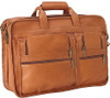 Edmond Leather Expandable Business Briefcase 291